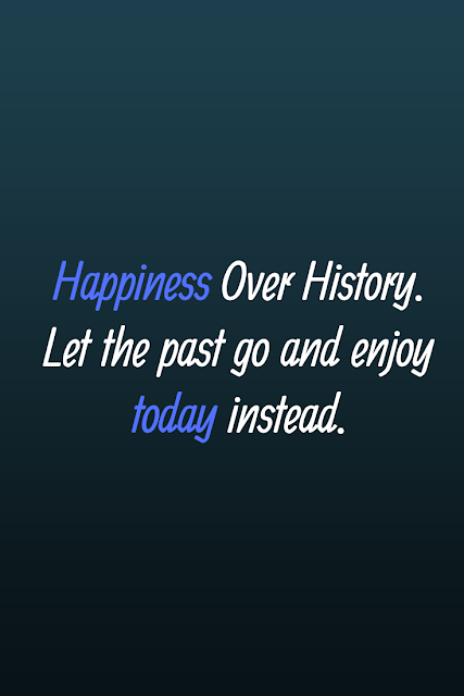 Happiness Over History