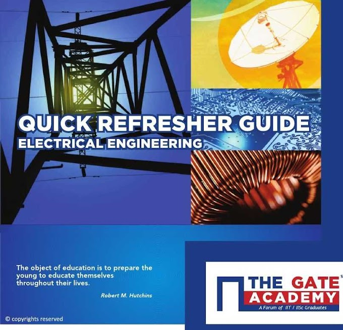 [PDF] Download Quick Refresher Guide Electrical Engineering The Gate Academy Pdf
