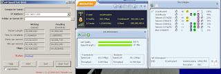 Esempio di trasferimento dati, Utility Mediatek e LAN Speed Test