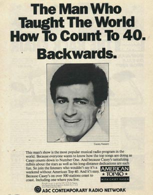 Casey Kasem's American Top 40 - The 70s | Digital Radio Central