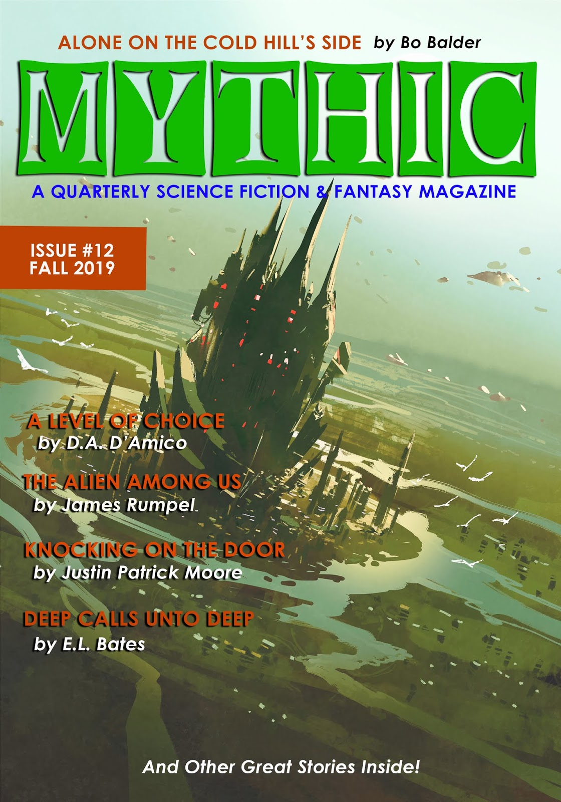LATEST ISSUE OF MYTHIC
