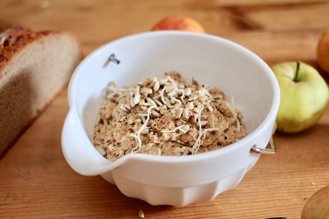 Rezept Veganer Apfel Meerrettich Aufstrich