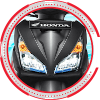 Dual Keen Eyes LED HeadLight Vario 110 ESP CBS Advance 2018 Anisa Naga Mas Motor Klaten Dealer Asli Resmi Astra Honda Motor Klaten Boyolali Solo Jogja Wonogiri Sragen Karanganyar Magelang Jawa Tengah.