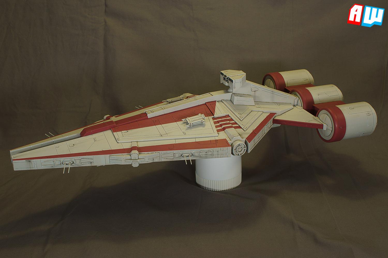 The Alternative Wargamer Commission Arquitens Class Light Cruiser Mk2