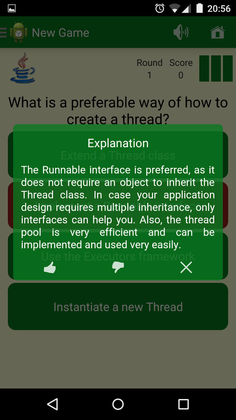 Preloading of an Android WebView