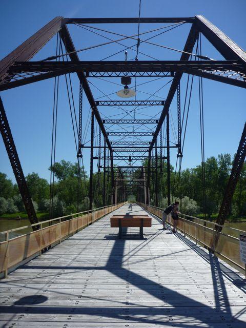 Teen girls in Bridge