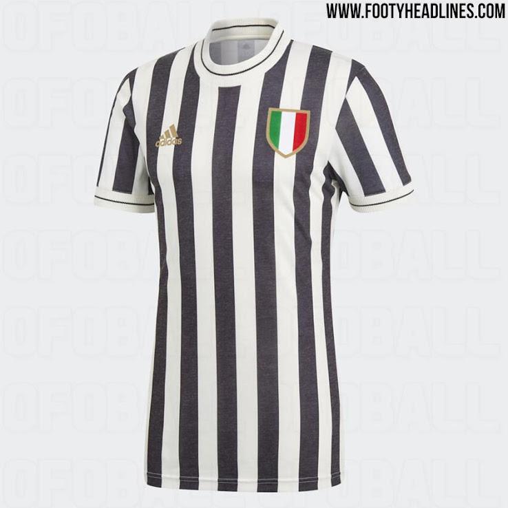 buy popular 6244b 46965 Adidas Juventus 2018 Retro Jersey Leaked - Footy Headlines