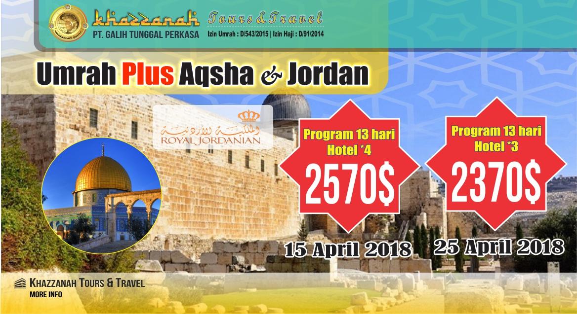 Travel umroh Haji Khazzanah tour