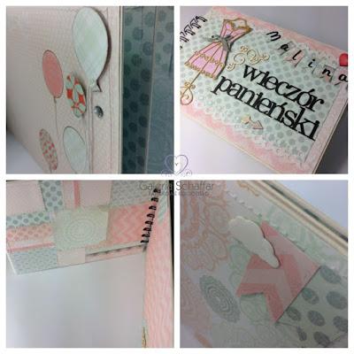 szycie maszynowe papieru maszyna Jenome craft etykietki tagi handmade