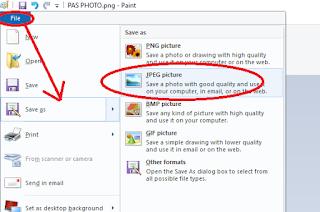 Cara Mengecilkan Ukuran Photo Untuk Daftar CPNS