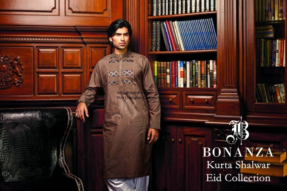 Bonanza Eid Collection For Men 2014 fashionwearstyle.com