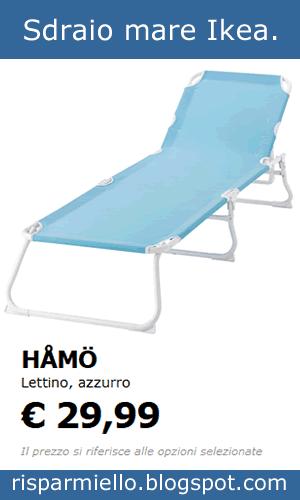 Sdraio Per Mare Prezzi.Risparmiello Sdraio E Lettini Da Giardino Ikea