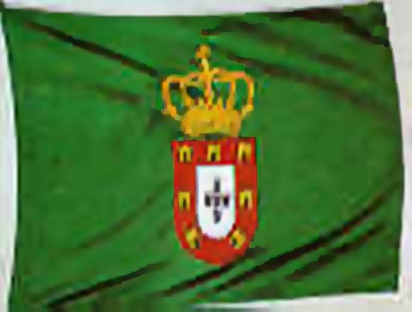 Bandeira de D. Pedro II, de Portugal (1683 - 1706)