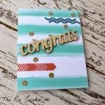 homemade congrats card