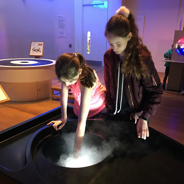 Stephs Two Girls in Science Museum