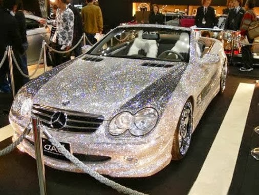 Diamond Covered Mercedes Of Prince Al Waleed Bin Talal
