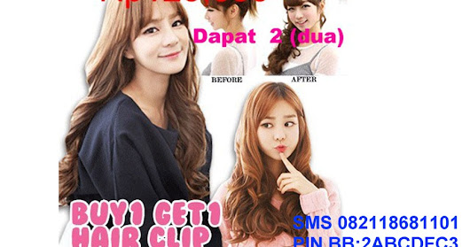 HAIRCLIP Premium Korea Import
