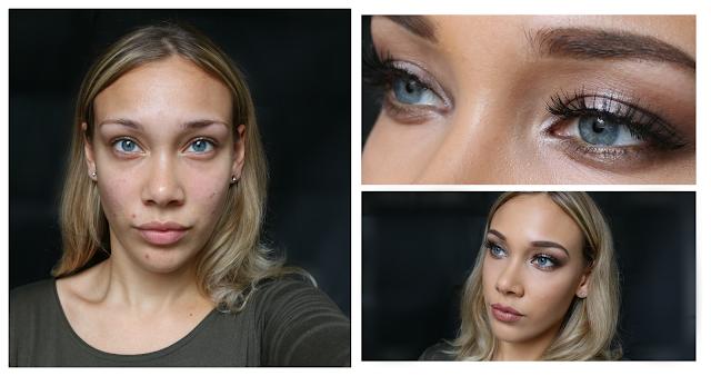 beauty, makeup, tutorial, Youtube, halo eye effect, full glam, evening, formal, youwishyou, youtubers, 2015,