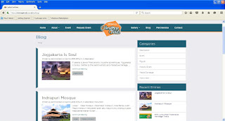 Blog Website Indonesia Heritage Trails