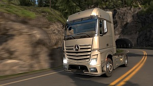 Mercedes-Benz trucks soon in Euro Truck Simulator 2