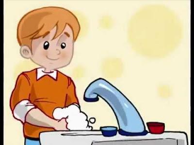 قواعد النظافة الشخصية للأطفال