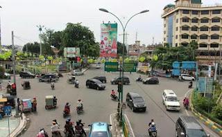 Arus Lalu Lintas di Sejumlah Ruas Jalan Kota Medan Berubah