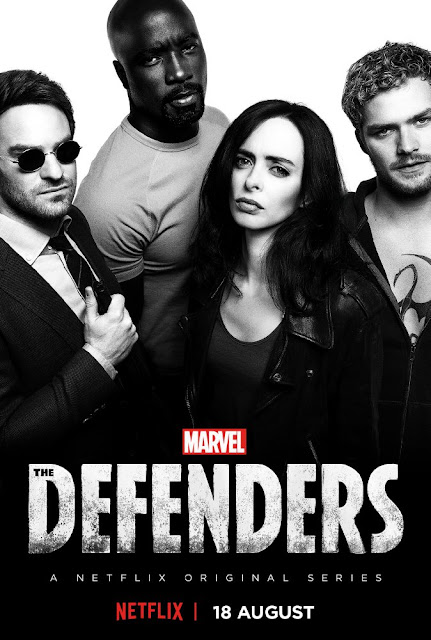 Daredevil, Jessica Jones, Luke Cage, Iron Fist, Marvel,
