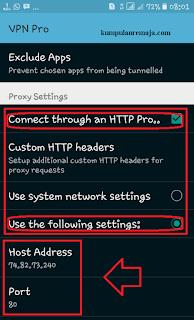 setting psiphon DNS facebook