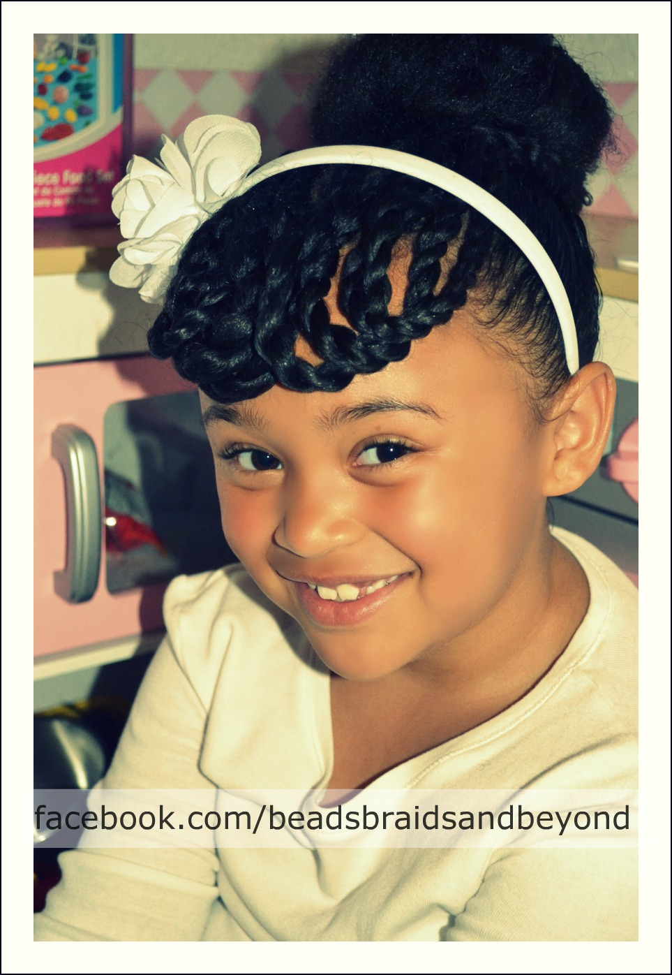 Swell Beads Braids And Beyond How To Create Short Bangs On Long Short Hairstyles For Black Women Fulllsitofus