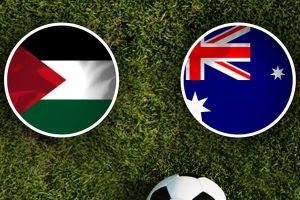 مشاهدة مباراة فلسطين وأستراليا بث مباشر اليوم