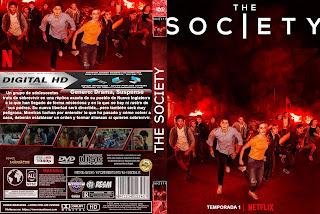 [SERIE NETFLIX] THE SOCIETY – TEMPORADA 1  – 2019 [COVER DVD]