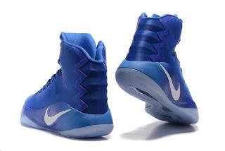 Nike Zoom Hyperdunk 2016 Blue Premium, Sepatu basket Murah, Sepatu Basket Premium, Sepatu Basket Imporrt