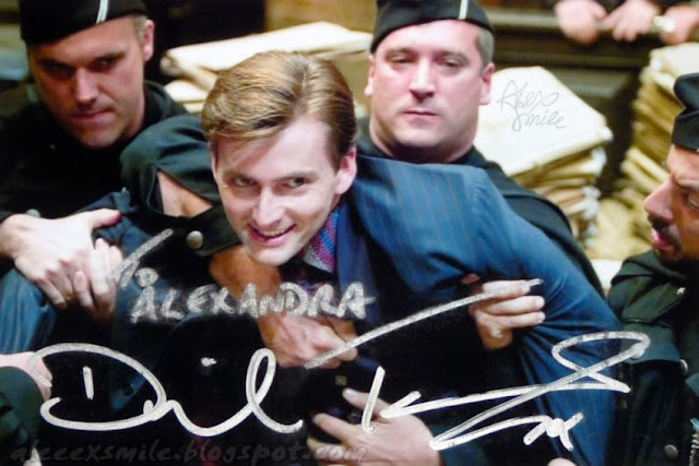 David Tennant Autograf Autograph, Barty Crouch Jr. Doctor Who, Harry Potter