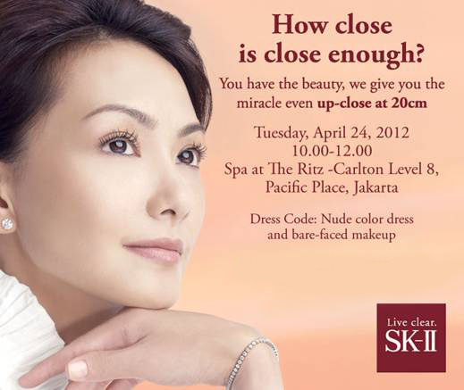 SK II Come Closer Even Closer Event