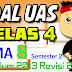 SOAL UAS / PAS KELAS 4 Semester 2 TEMA 8 K13 Revisi 2017