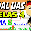 Download SOAL UAS KELAS 4 Semester 2 TEMA 8 K13 Revisi 2017