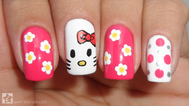 Unhas Decoradas - Hello Kitty