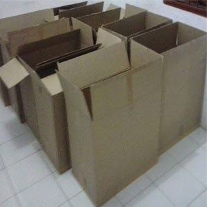 Karton box.
