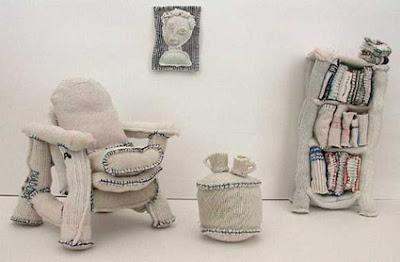 Cámara fotográfica hecha con calcetines