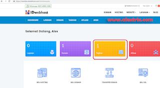3 cara manual bayar domain idwebhost metode paypal
