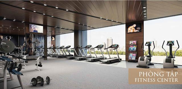 Phòng tập Gym tại Xuân Mai Complex
