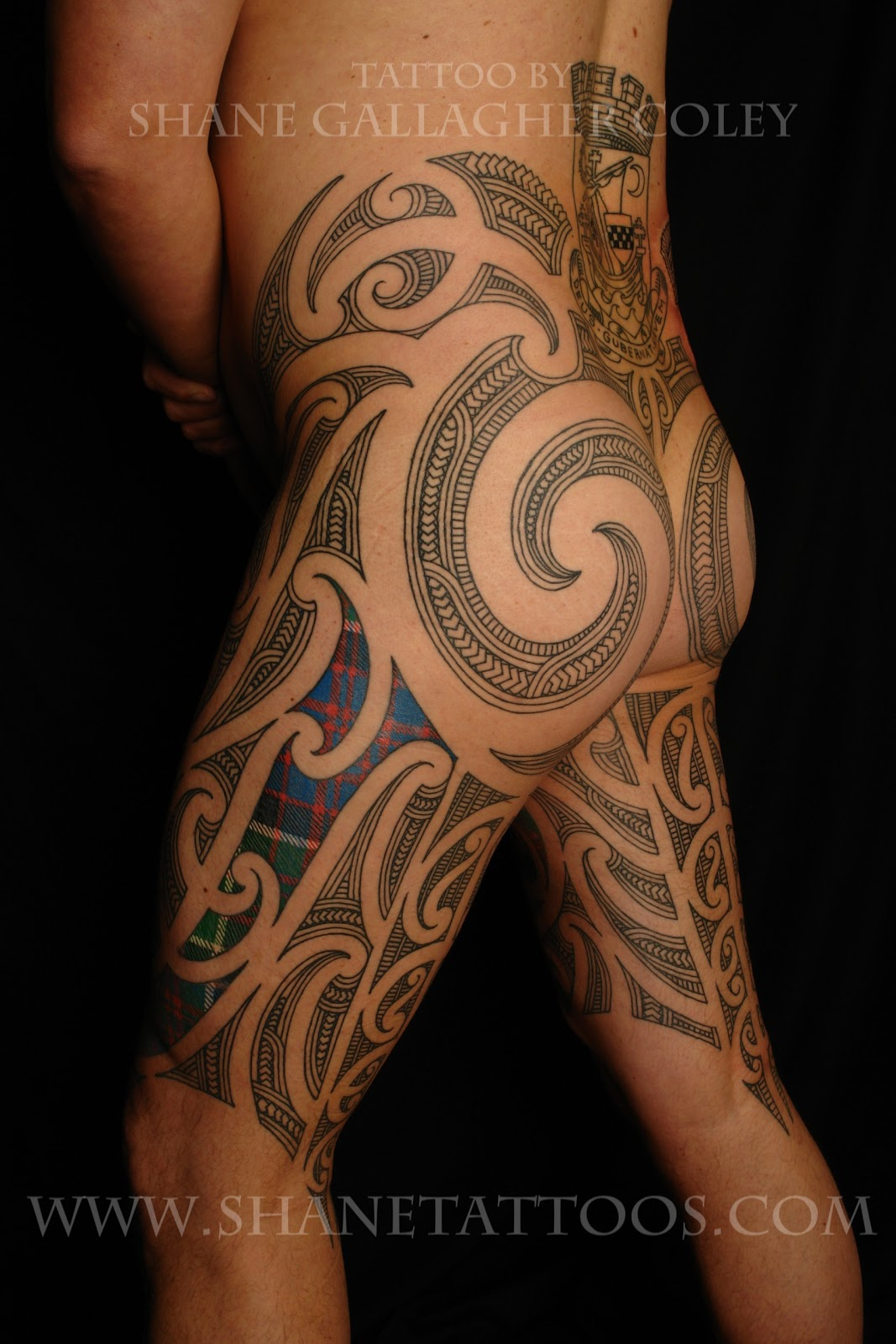 SHANE TATTOOS: Puhoro: Maori/Scottish On William