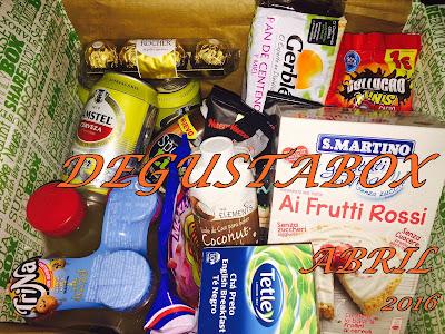 Caja Degustabox - Abril 2016