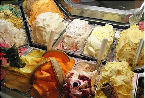 4 места где можно научиться делать мороженное в Италии