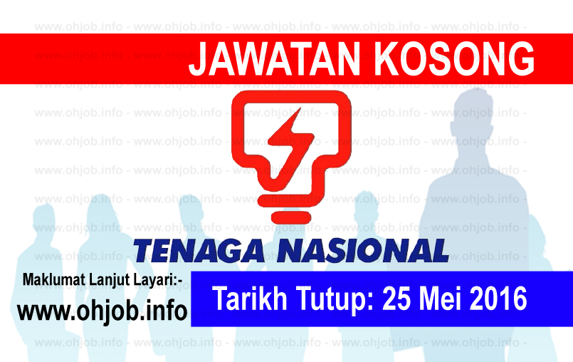 Jawatan Kerja Kosong TNB Research Sdn Bhd logo www.ohjob.info mei 2016