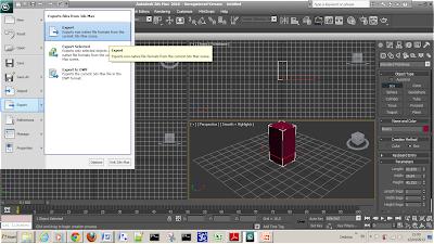 Belajar Augmented Reality dengan Flartoolkit - Meng-Export