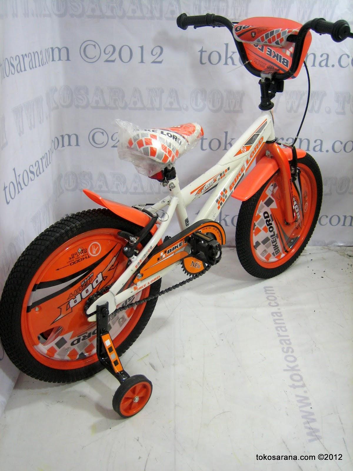 Sepeda Anak Bike Lord 1809W Dop New 2012 16 Inci News