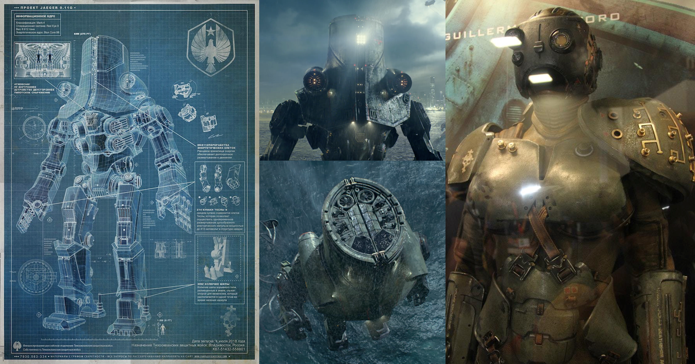 Pacific Rim Le film: Jaegers and pilots (ENG) Pacific Rim Jaeger Russia