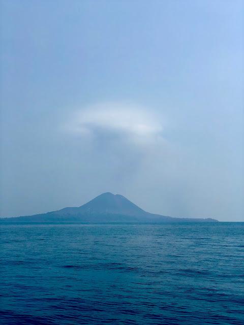 Anak Krakatau volcano, Lampung
