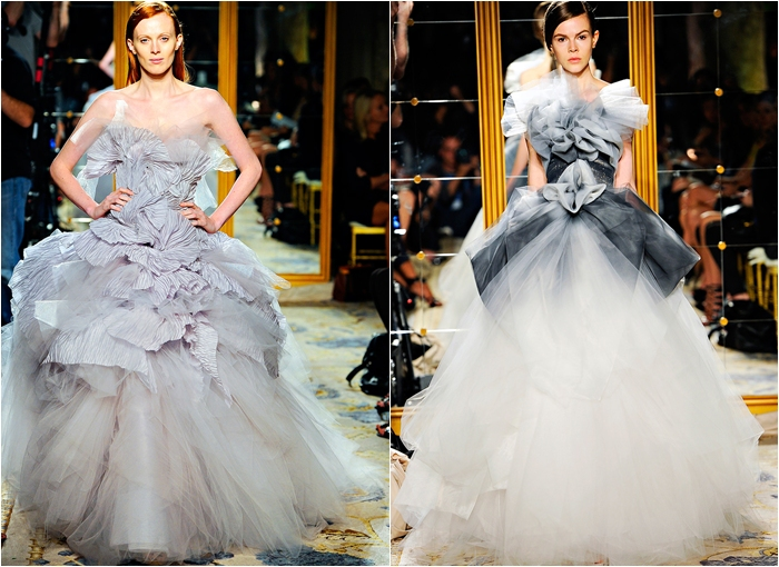 Marchesa spring 2012 collection extravagant dresses